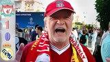 UCL Final 2018 Liverpool vs Real Madrid Fans in Kiev Song Salah la la la UEFA Champions League