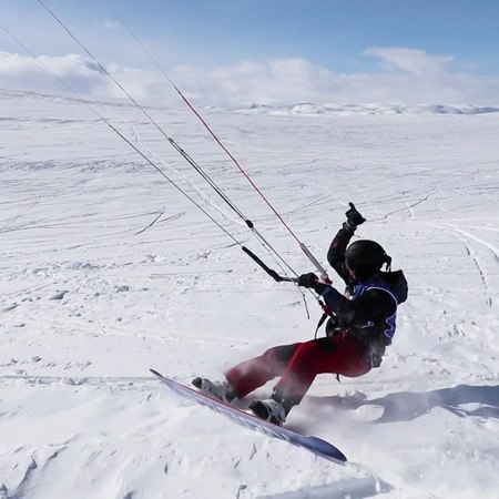 "Red Bull on Instagram When over 300 snow kiters go wild redbullragnarok snowkiting wind winter fun norway"""