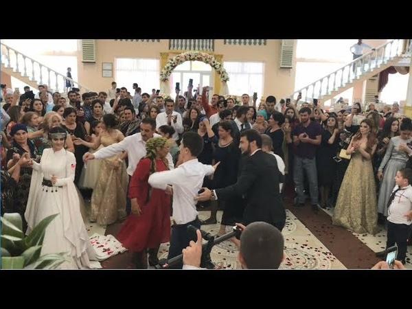 Энергетичная Свадьба В Дагестане 2018 Молодежь Танцует С Невестой (ALISHKA В Махе)