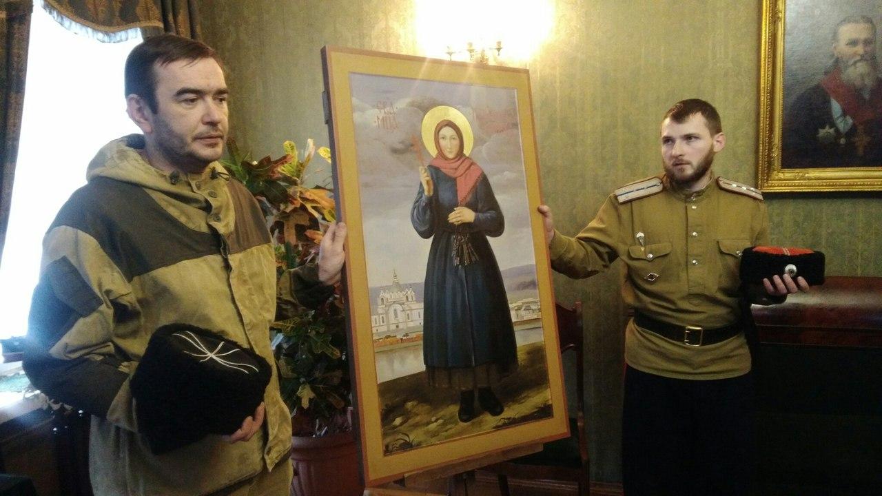 Передача иконы св.Новомученицы Параскевы Кульдурской