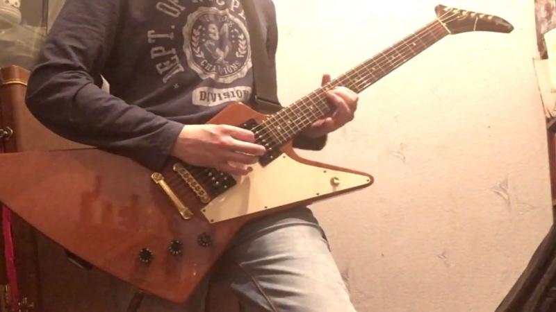 Megadeth — Symphony Of Destruction (guitar cover)