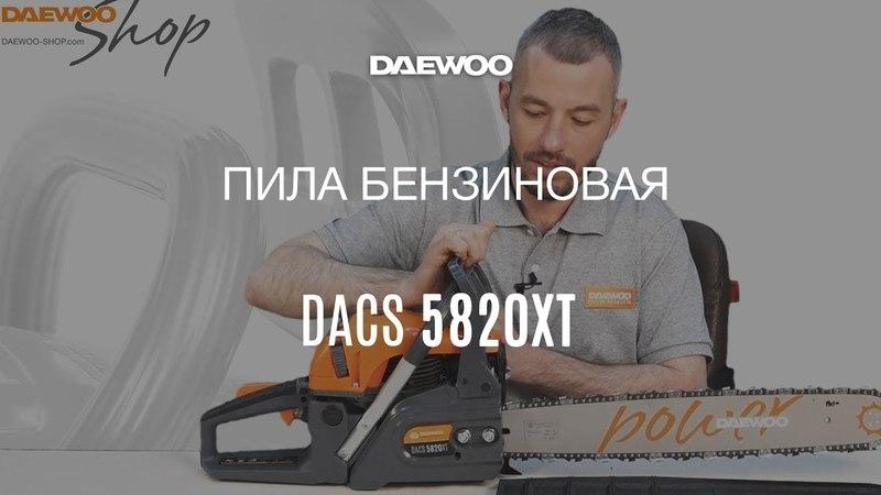 Бензиновая пила Daewoo DACS 5820XT – официальный обзор