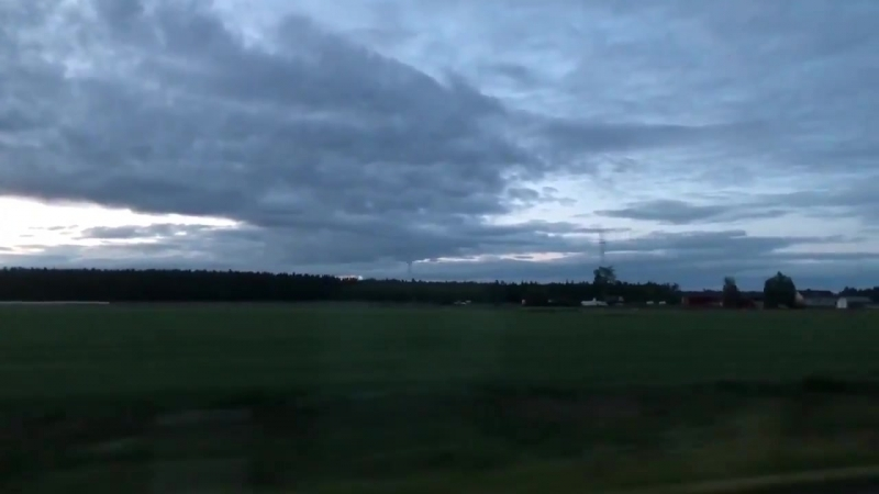 Возвращение с фестиваля в PowerPark (Хярмя, Финляндия, 23.06.2018).