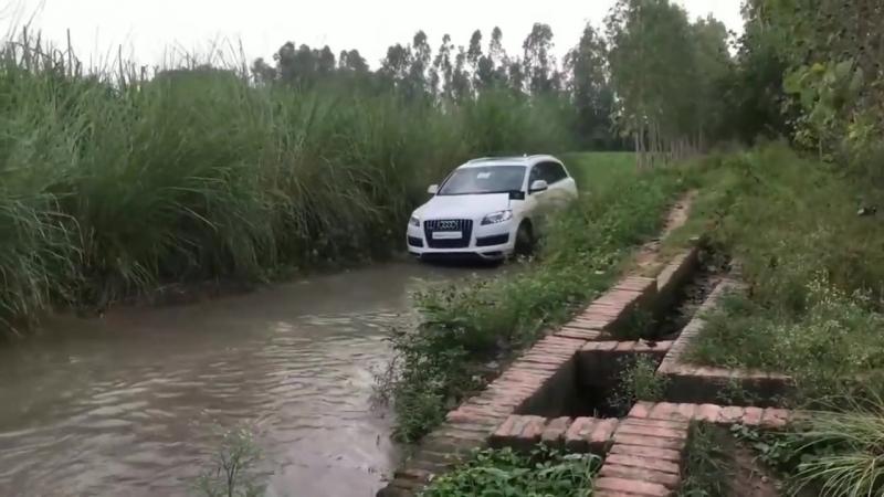 AUDI Q7 на бездорожье