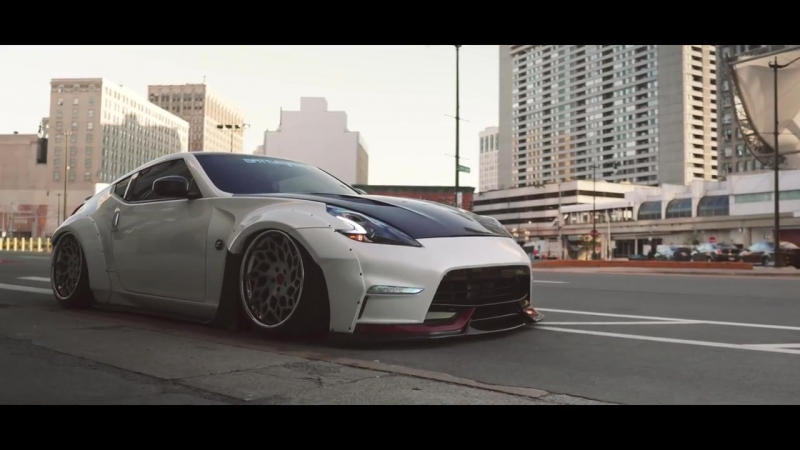 Alis Bagged 370z Streets of Detroit | Perfect Stance