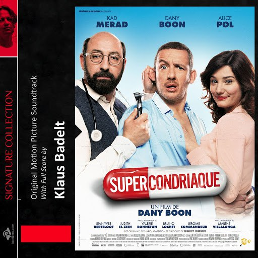 Klaus Badelt альбом Supercondriaque (Original Score)