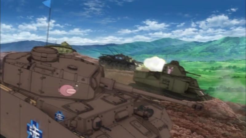 Girls und Panzer (Танкистки)Махо vs Михо.amv