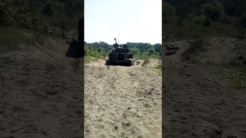 Выстрел САУ-2с1