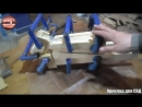 Делаем приклад для СВД, карабин ТИГР, своими руками из фанеры