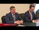 Андрей Бочаров провел рабочую встречу с руководством Волжского абразивного завода