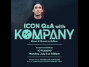 XLNTSOUND Live Q A w Kompany at Icon Collective 1PM