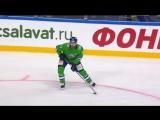 100-й гол Линуса Умарка в КХЛ