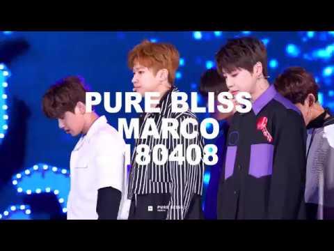 180408 열린음악회 유앤비 UNB - 감각 마르코 포커스 4k Marco focus cam