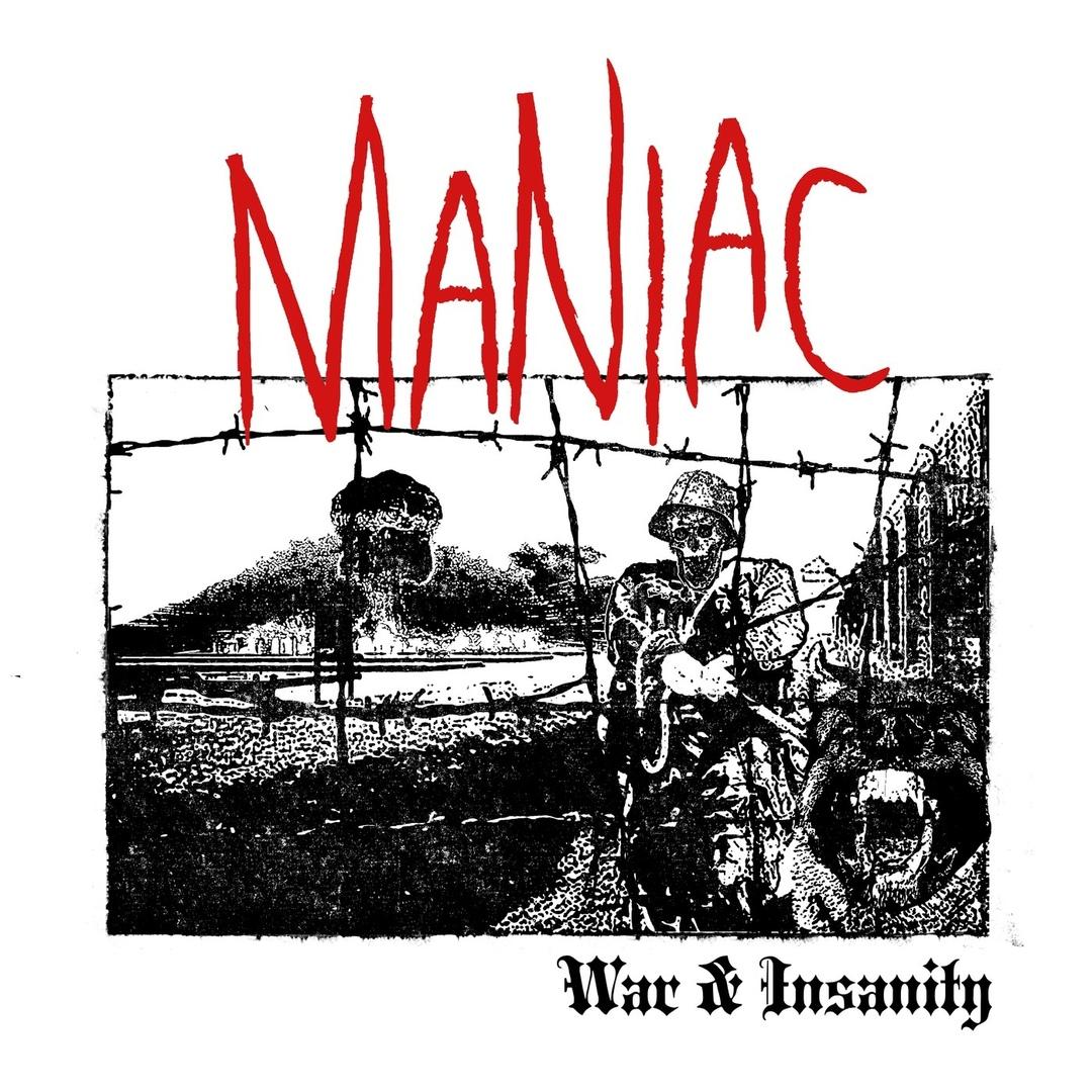 Maniac - War Insanity [EP] (2018)