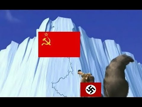 What happened in World War II - Ice age
