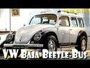Volkswagen VW Beetle Bug Baja Bulli Furgão Bus Mukidi Custom Build Project Vocho Fusca Kafer