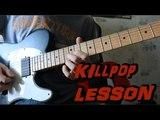 How to play Killpop by Slipknot Guitar Solo Lesson Разбор соло Killpop