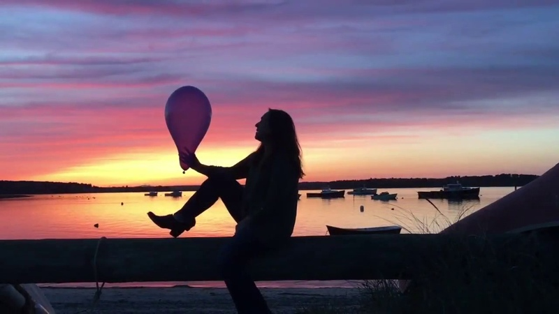 Sunset Balloon Popping