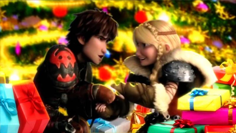 Новогоднее поздравление мультКлип для Алисы