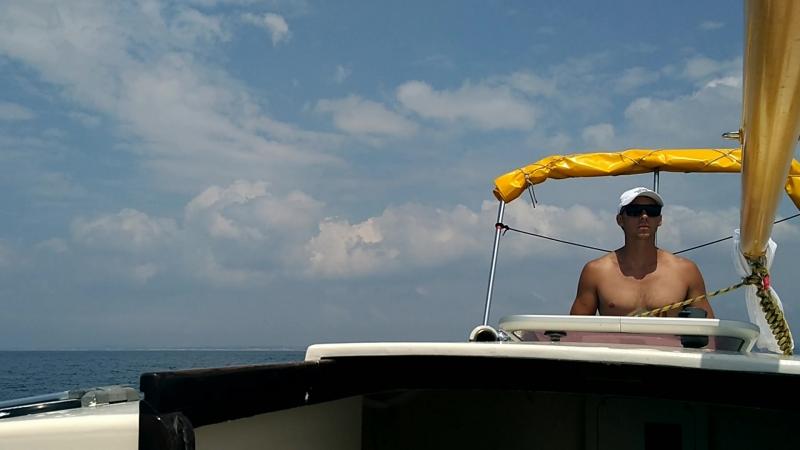 на яхте Корсар по Черному морю