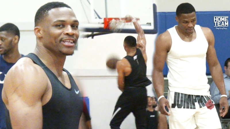 Russell Westbrook Highlights at Rico Hines UCLA Run! OKC Thunder