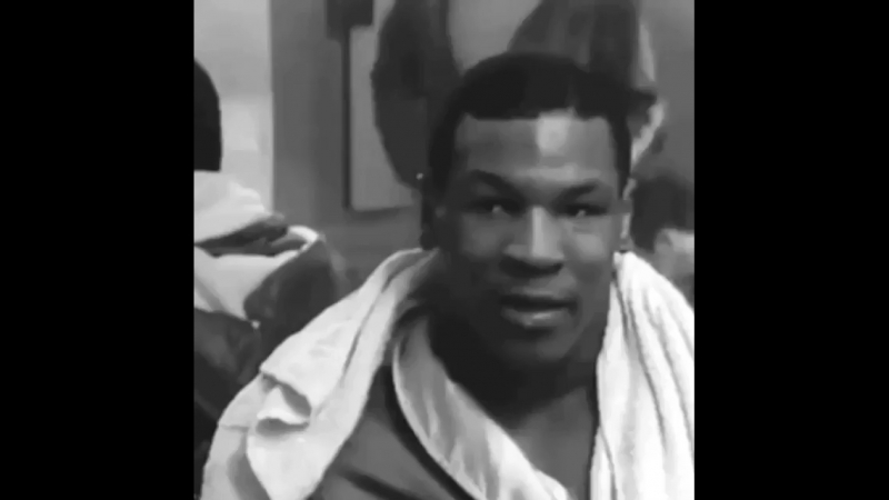 Mike Tyson in 16 years old
