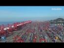 Крупнейший в мире автоматизированный контейнерный терминал