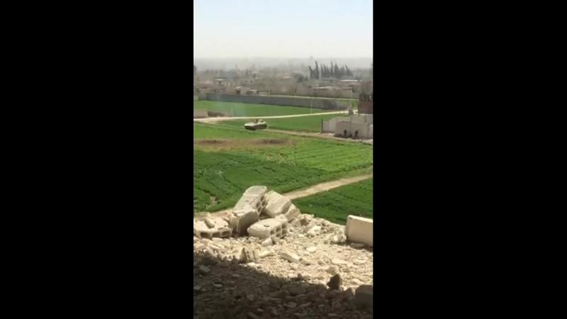 Операции освобождения Хамурии в Восточной аль-Гуте .. Репортаж корреспондента Аль-Манар Джафара Муханны