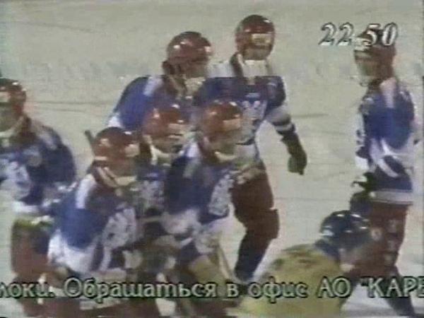 31/ 01/1999г./«Казахстан»-«Россия»-2:11(1:5)-2 тайм❆Чемпионат мира по хоккею с мячом❆1-ый этап/