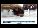 В Башкирии рыбу ловят голыми руками
