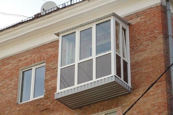 балконные рамы в хрущевках