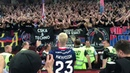 Iceland in Russia. Magnusson and CSKA fans