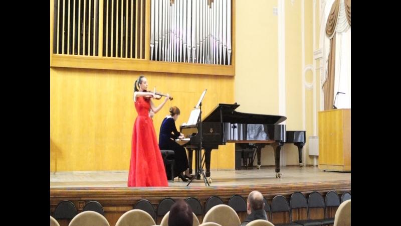 Й. Гайдн - Соната для скрипки и фортепиано es-moll