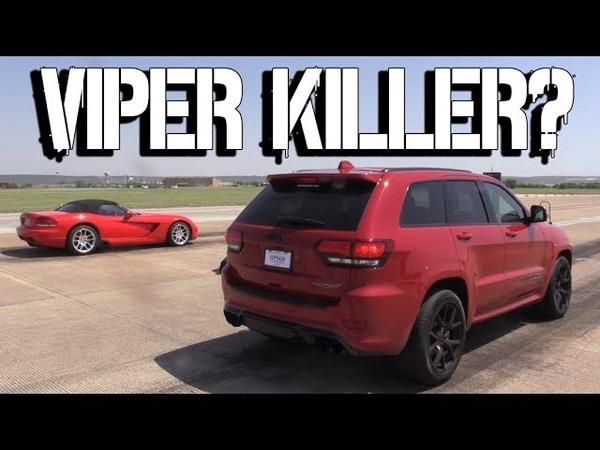Jeep SRT Trackhawk vs Dodge Viper SRT/McLaren 720S/BMW M3 (F80)/McLaren MP4-12C/Audi R8 V10 Plus/Ford Mustang GT500 Shelby