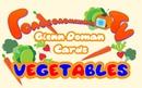Glenn Doman Cards. Vegetables. Карточки Домана. Учим овощи