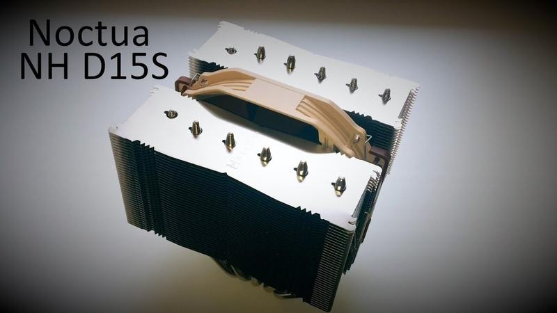 Распаковка кулера Noctua NH D15S Unboxing