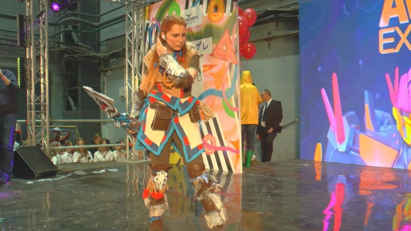 Cosplay Aloy Horizon Zero Dawn Ava Expo 2017