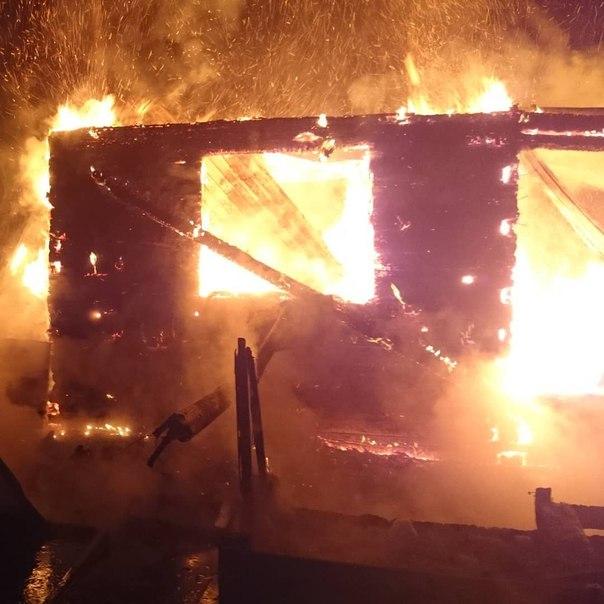 Пожар 13 апреля в дачном кооперативе «Коммунальник»