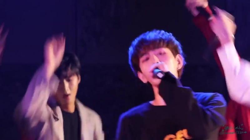 20181008 Выступление в HY TOWN HALL - Fireworks (Seunghwan focus)