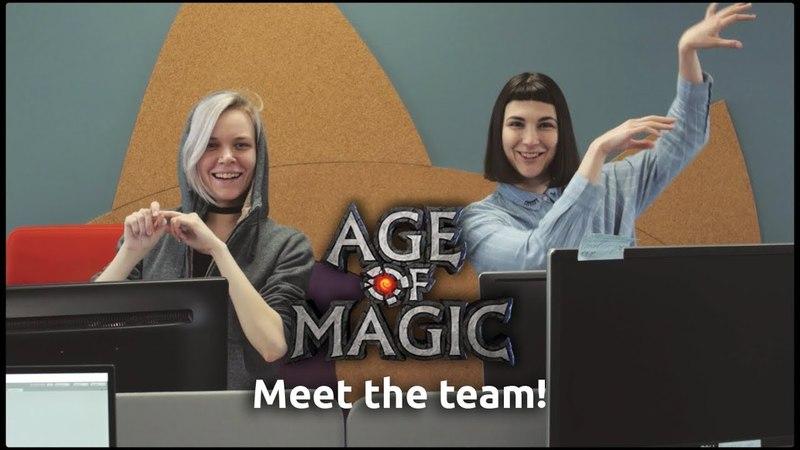 Meet Age of Magic production team!