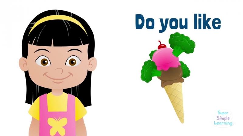 Do You Like Broccoli Ice Cream - Super Simple Songs