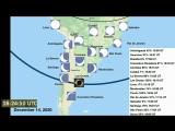 Total Solar Eclipse в 14 December 2020 в South America