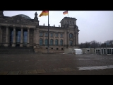 Reichstag. It is a nice weather