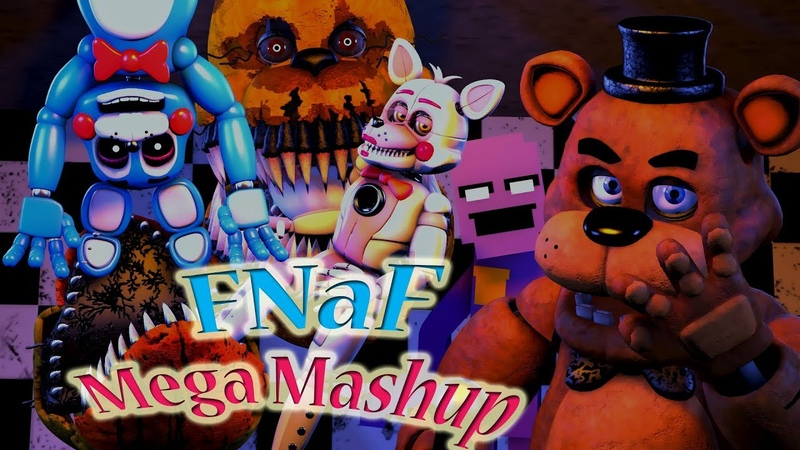 [SFM] [FNaF] Mega FNaF Mashup (By Dan Klein)