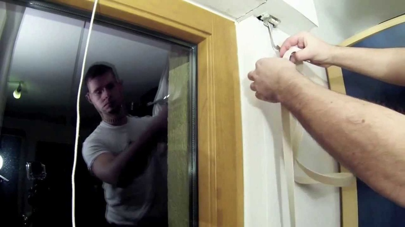 How to exchange strap of a roller shutter without opening head box