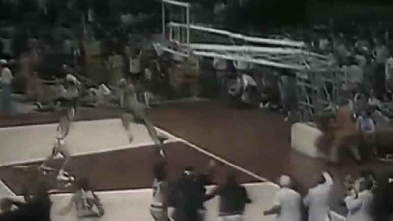 Баскетбол СССР США 1972 г. олимпиада финальный матч USA - USSR 1972 Basketball Olympic game(Движение в верх)