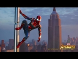 Marvels Spider-Man - Iron Spider Suit Revealed ¦ PS4