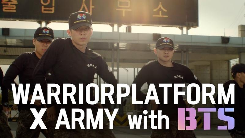 Real Army Challenge BTS IDOL 커버댄스 도전하다 with 워리어플랫폼