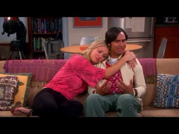 Raj can finally talk to girls. TBBT S6x24 The Bon Voyage Reaction