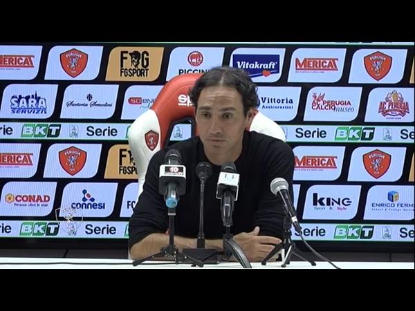 Conferenza stampa Mister Nesta al termine di Perugia-Ascoli